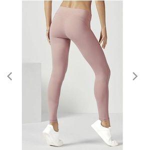Fabletics athletic leggings stretch pink rose